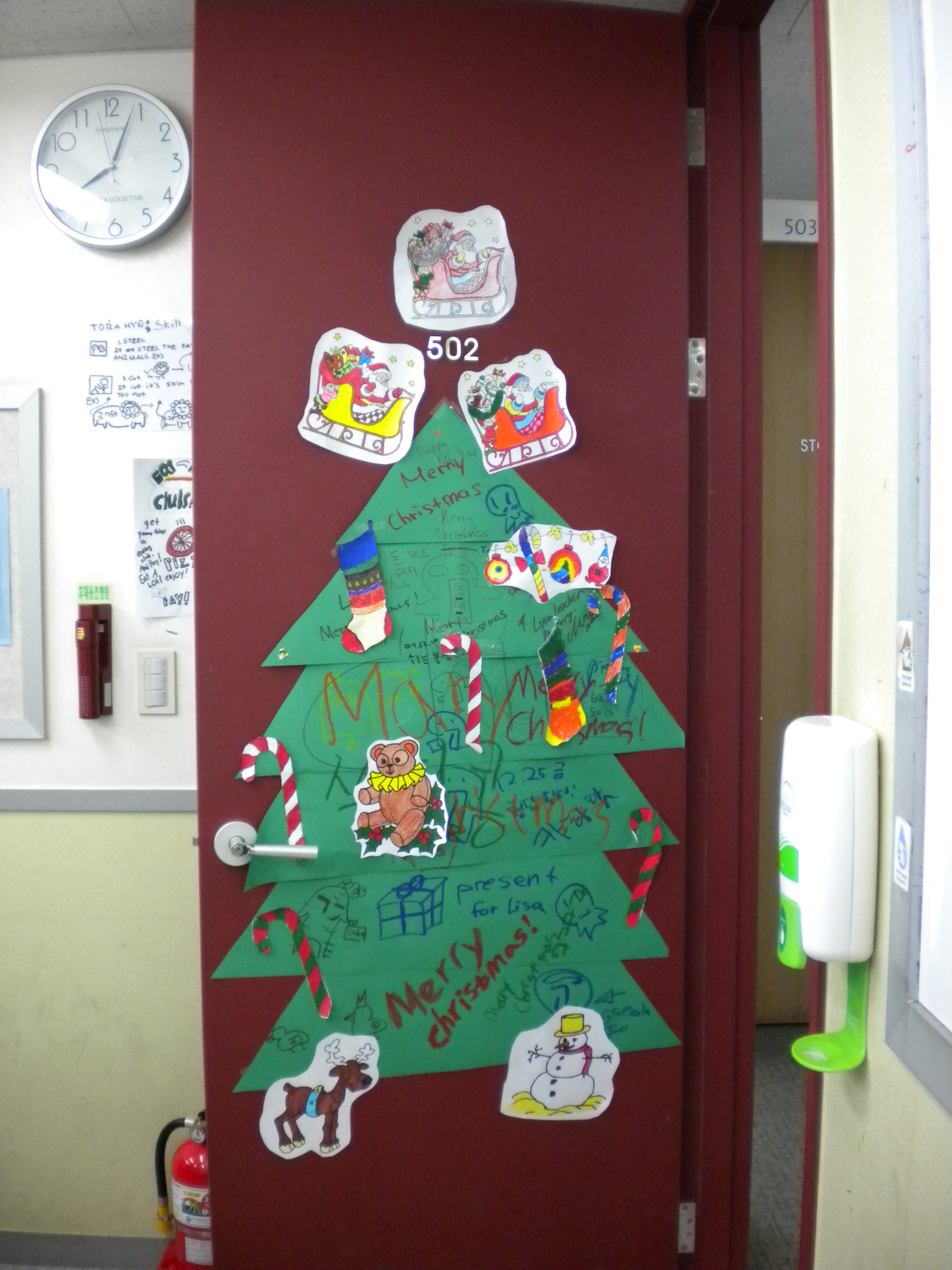 Christmas Bulletin Boards Notre Dame School Talent Show 2013