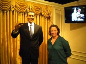 Meeting Obama in Korea